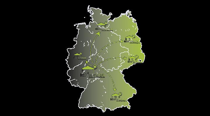 Bundesweiter Zeltverleih Standorte