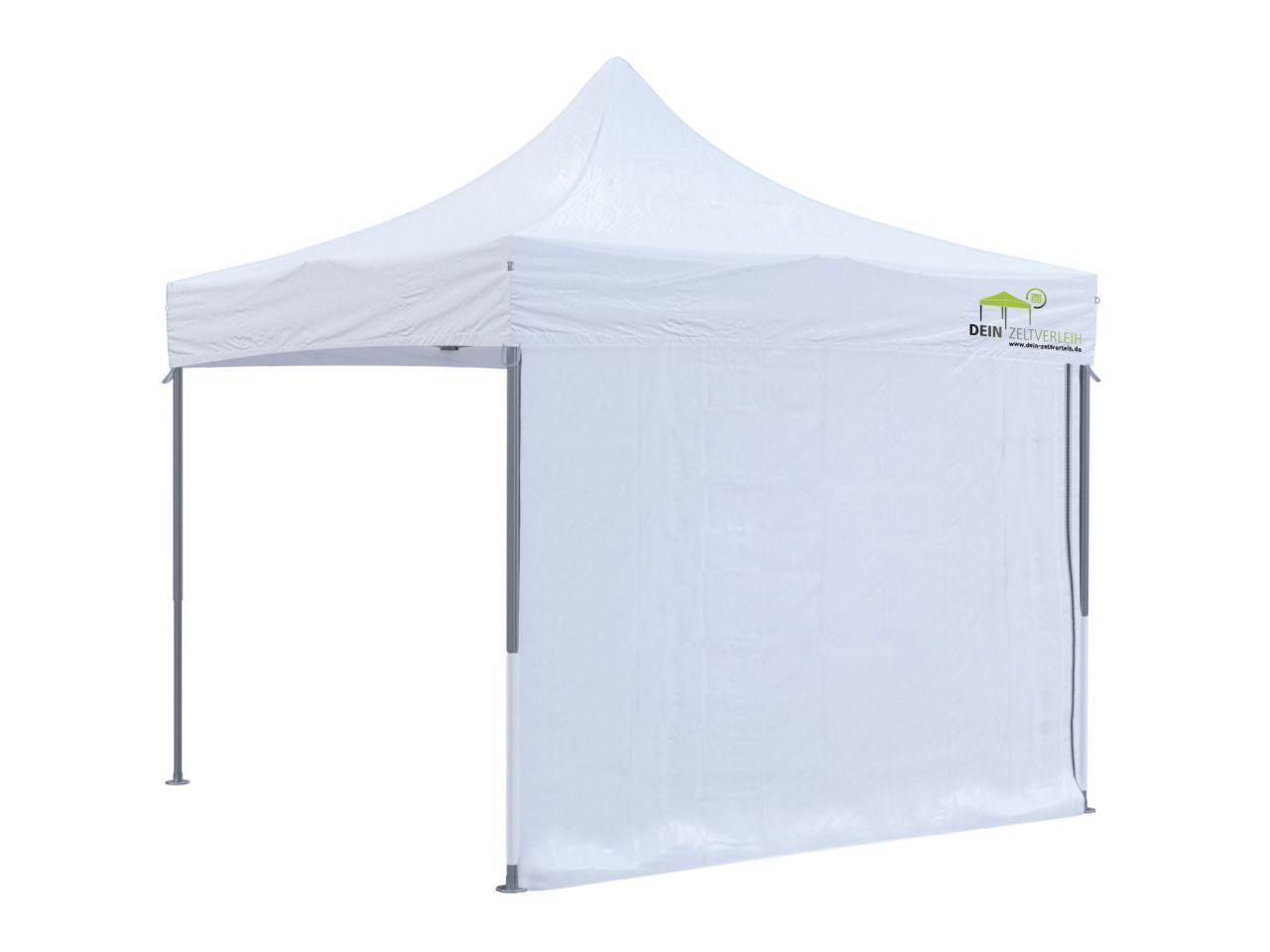 Miet-Zelt mit Seitenwand